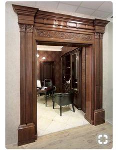 Pooja Room Door Design, Door Design Interior, House Roof Design, Wooden Main Door Design, Craftsman Interior, Wood Exterior Door, Arched Doors, Entrance Decor, Pooja Rooms