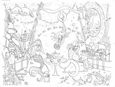 mermaid kids coloringadult coloringcoloring pagescolouringgiant posterstoys gamesmermaidsadventurepeter pan - Peter Pan Mermaids Coloring Pages
