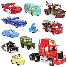 Disney Cars Radiator Springs Deluxe Die Cast Set
