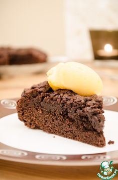 Шоколадный пирог по рецепту бабушки Ивонн - кулинарный рецепт