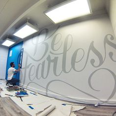170 square foot canvas. …