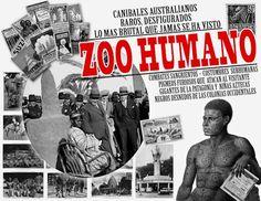 Zoo humano. Parque del retiro 1887.