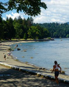 Vancouver's Stanley Park. Ran this trail...it's beautiful!