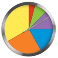 In de onderbouw gebruik ik de kleurenklok wel eens wanneer ik samen met een kind of groepje kinderen aan de slag ga. Hoe ouder de kinderen worden, hoe meer ik ze aanspoor om de kleurenklok zelfstandig te gebruiken.