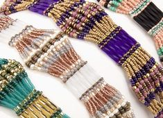 Buy Beads, Jewelry Making Supplies & beading tools for your beaded jewelry designs. We've got beads, jewelry findings & jewelry supplies to make your own beaded jewelry. Beading Patterns Free, Seed Bead Patterns, Weaving Patterns, Art Patterns, Mosaic Patterns, Painting Patterns, Seed Bead Tutorials, Free Beading Tutorials, Free Pattern