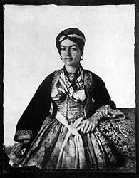 An  old Photograph of a Noble woman wearing her Libade. (Pharyah)
