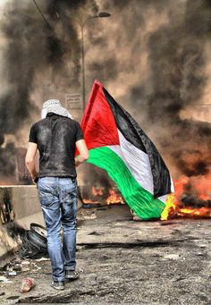 I stand with Palestina and Israel.