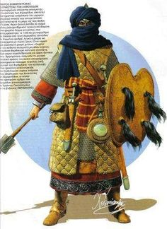 Moorish warrior from North Africa - Brought to you by the Historyteller podcast. Click on the image to subscribe!