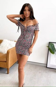 Summer Outfits, Cute Outfits, Summer Dresses, Rock And Roll Fashion, Maxi Styles, Feminine Style, Night Gown, Women Lingerie, Sexy Dresses
