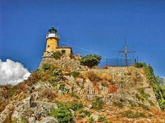 Lighthouse Corfu, Greece