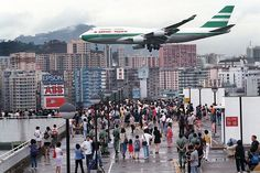 Chek Lap Kok is fabulous. But we miss the excitement of Kai Tak landings!  travel and #save 50% on airfare with #AirConcierge.com