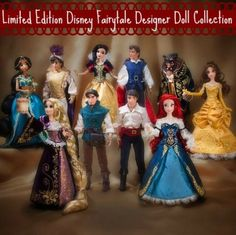 Disney Princess Limited Edition Dolls