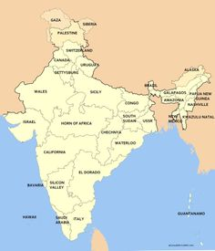 The Idiot's Guide To Indian Geography