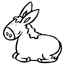 Resultado de imagen de animales de granja dibujos para colorear