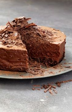 NOMU is an original South African food and lifestyle concept by Tracy Foulkes. Cocoa Recipes, Hot Chocolate Recipes, Cake Recipes, Dessert Recipes, Chocolate Mousse Cake, Decadent Chocolate, Chocolate Sponge, Belgian Food, Belgian Recipes