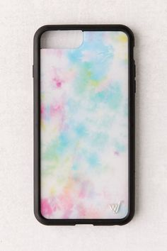 Cult fave Wildflower collaborated with UO for this exclusive iPhone case featuring a tie-dyed print in pastel hues we love. Hard shell plastic case with a rubber bumper edge. Diy Iphone Case, Iphone Phone Cases, Iphone 8, Iphone Case Covers, Iphone Ringtone, Iphone Headphones, Sell Iphone, Unlock Iphone, Iphone Charger