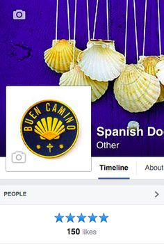 Spanish Door with the first 150 followers ! Thank you everyone. #CaminoDeSantiago