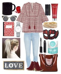 """""""Love"""" by anafilipafonseca2004 on Polyvore featuring Paige Denim, Talitha, Dorothy Perkins, Parlane, Chanel, Longines, Torrid, MAC Cosmetics, Elemis and Call Of The Wild"""