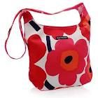 Want one of these Marimeko bags! My Favorite Color, My Favorite Things, Marimekko, Cotton Canvas, Drawstring Backpack, Thrifting, Diaper Bag, Vintage Fashion, Shoulder Bag