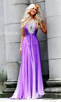 Elegant Sherri Hill Prom Dress