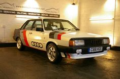 Restored 1986 C Audi 80 1.8 Sport. Lovely.