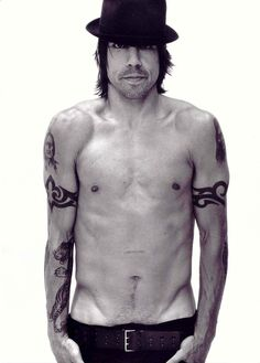 Anthony Keidis. In all seriousness.. I love him, I absolutely do. He is my idol, and his voice has literally been my strength so much through life. RHCP is so true & dear to me.