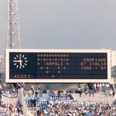Napoli 10.05.1987 Stadio San Paolo ♥ #ilovenapoli Soccer, Cool Stuff, Club, Sport, Italia, Sports, Futbol, Deporte, European Football