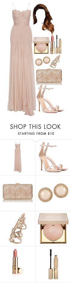 """""""Untitled #4417"""" by natalyasidunova ❤ liked on Polyvore featuring Maria Lucia Hohan, Gianvito Rossi, ALDO, Miss Selfridge and Stila"""