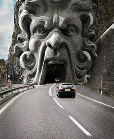 Road Statue