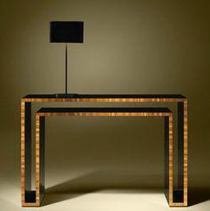 Contemporary wooden sideboard table DUPLO U Luisa Peixoto Design
