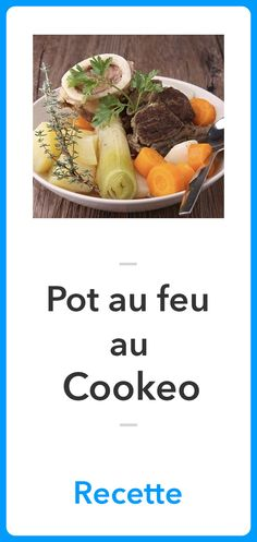 Pot au feu at Cookeo Healthy One Pot Meals, Easy One Pot Meals, Healthy Eating Tips, Healthy Nutrition, Baked Tortellini Recipes, Sausage Tortellini, Pot Au Feu Recipe, Meat Recipes, Healthy Recipes