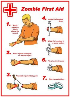 Zombie First Aid.