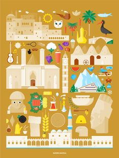 Turkey by Tamer Koseli, via Behance