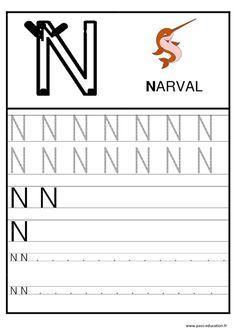 Super Alphabet - Ecrire les lettres – Ecriture – Maternelle – Petite  QB77