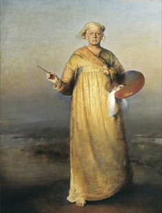 Odd Nerdrum, Self-portrait as the Prophet of Painting