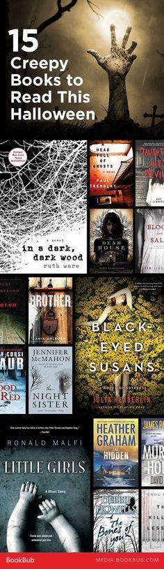 15 creepy books to read for Halloween.