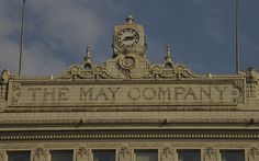 May Company, downtown Cleveland