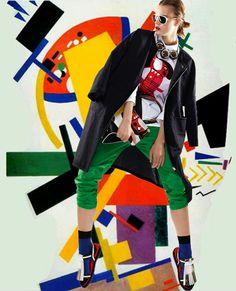 Fashion Times: Suprematism by MARNI & Katja Schwalenberg. Marni S...