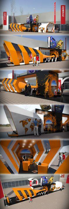 Lukoil / AutoShow 2013 / Ukraine on Behance