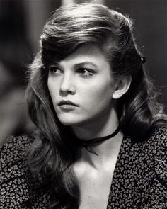 How dreamy is Diane Lane in Rumble Fish? Maybe there is this romantic element of the film since it's in black & white? I have no clue but... 1983. #crush #dianelane #rumblefish by codydefranco