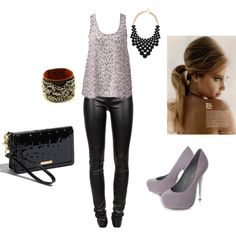 @Caylee Rebozzi potential K. Clarkson. i want leather pants.
