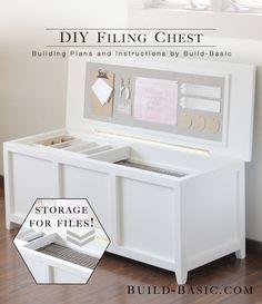 DIY Filing Chest