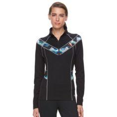Women's+FILA+SPORT+Extreme+Glow+Stitch+Quarter-Zip+Running+Jacket