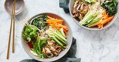 Clean-Eating Bibimbap Bowls - PureWow