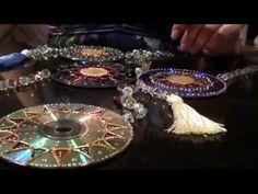 Mandala de aluminio montada en un Cd. DIY - YouTube