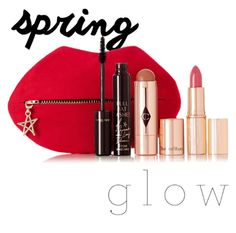 """""""Untitled #36"""" by gildaronca ❤ liked on Polyvore featuring beauty, Charlotte Tilbury and springglow"""