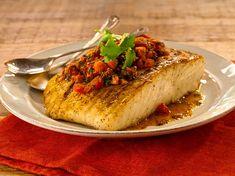 Balık+Domates+Kapari+Tereyağı+Maydonoz