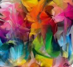 TECHNICOLOR POLIGONS - Generative Art | CC licensed