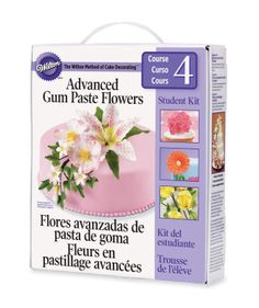 Flowers And Cake Design Student Kit Contents : 1000+ images about Wilton Method - Course 4 on Pinterest ...