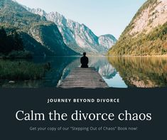 Our ebook, Stepping out of Chaos, shows you concrete steps to reclaim your life and navigate divorce with greater ease How Divorce Affects Children, Coping With Divorce, Concrete Steps, Feeling Lonely, Dating After Divorce, Single Parenting, Journey, Calm, Peace